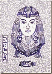 276 Zentangle Egyptian