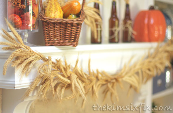 Wheat garland