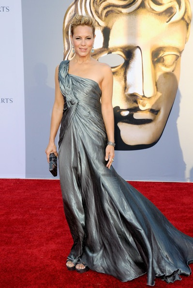 Maria Bello arrives at the BAFTA Brits To Watch event
