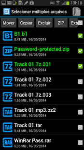 B1 Archiver zip rar Screenshot