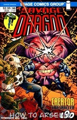P00001 - Savage Dragon - TETADEGAT