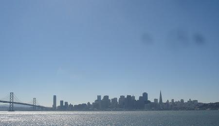 Imagini San Francisco: Un mic Golden Gate.