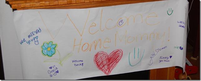 Honey, I'm home!