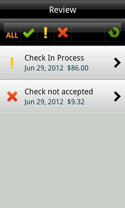 e-deposit- screenshot
