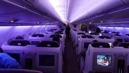 Interior cabina Air France
