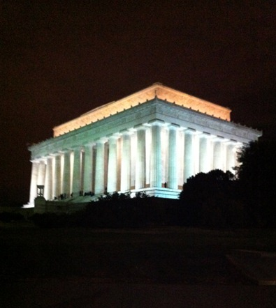 Sheva Apelbaum Lincoln Memorial 1