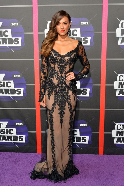Jana Kramer attends the 2013 CMT Music awards