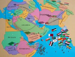 طرح خاورمیانه بزرگ تجزیه ایران