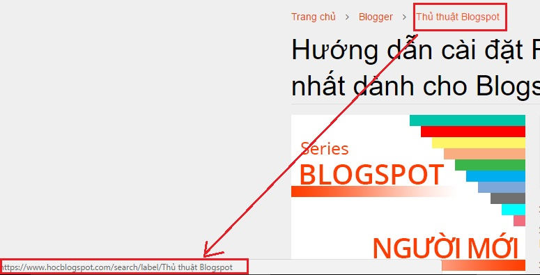 Label Blogspot