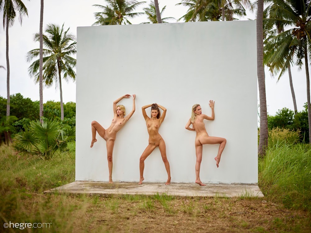 [Hegre-Art] Ariel, Marika, Melena Maria - In The Jungle hegre-art 10270