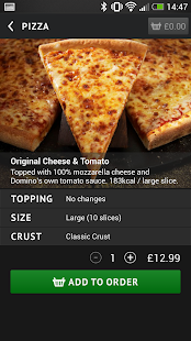 Domino's Pizza - screenshot thumbnail