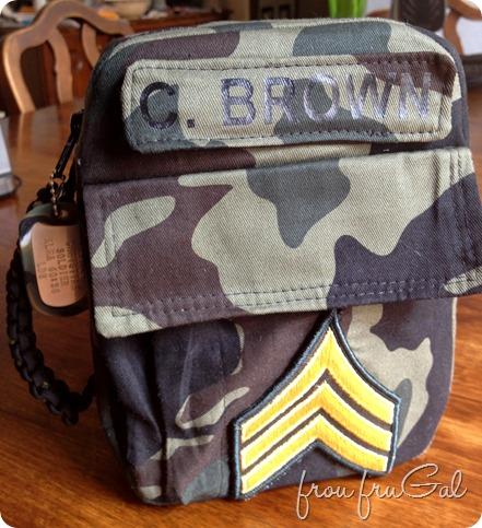 Boy Army Scripture Case