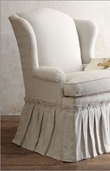 camel back chair