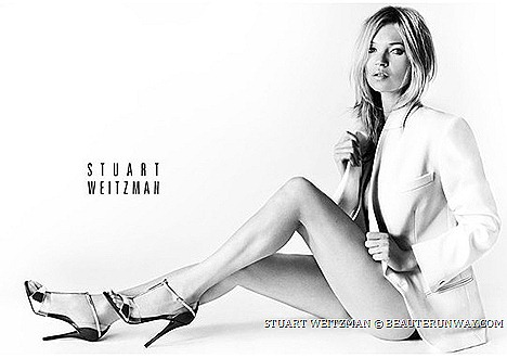 Stuart Weitzman Spring Summer 2013 Designer sin city stiletto t-bar shoe high heels ankle strap fashion trends , Kate Moss Mario Testino New York City brand sexy means being comfortable confident in your own skin.