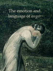The emotion and language of anger Cover