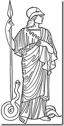 athena-coloring-page