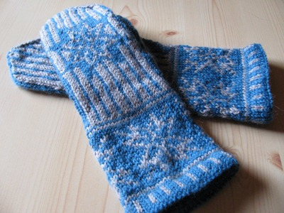 Mittens from Liv in Norway