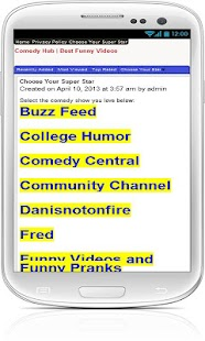 Comedy Hub Best Funny Videos - screenshot thumbnail