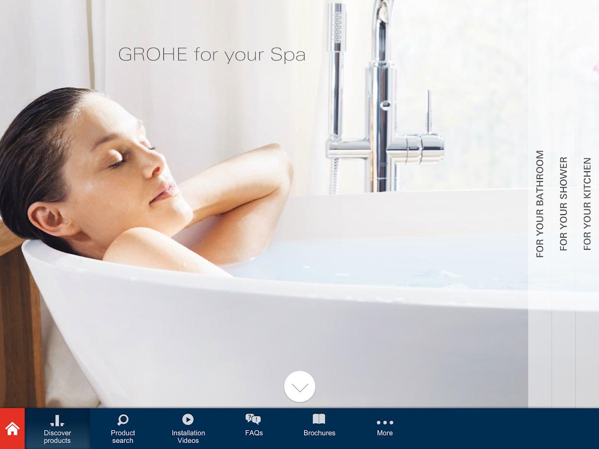 GROHE Pro - screenshot