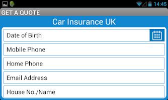 Screenshot of Cheap Car Insurance Quotes UK