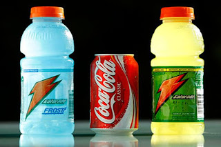 Chemicals banned in Europe still make their way into US foods - Mountain Dew, Gatorade, Powerade, Squirt, PepsiCo, Coca-Cola - Brominated Vegetable Oil (BVO)