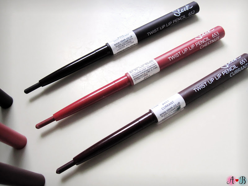 Twist Up Lip Pencils - Sleek Makeup