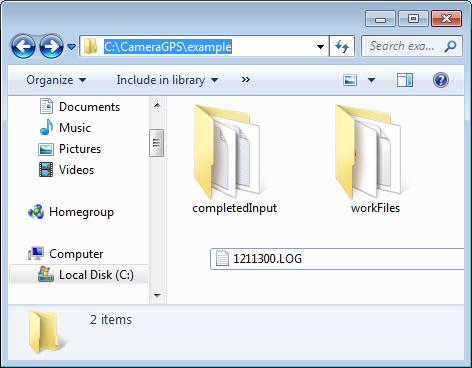 Workflow folder structure