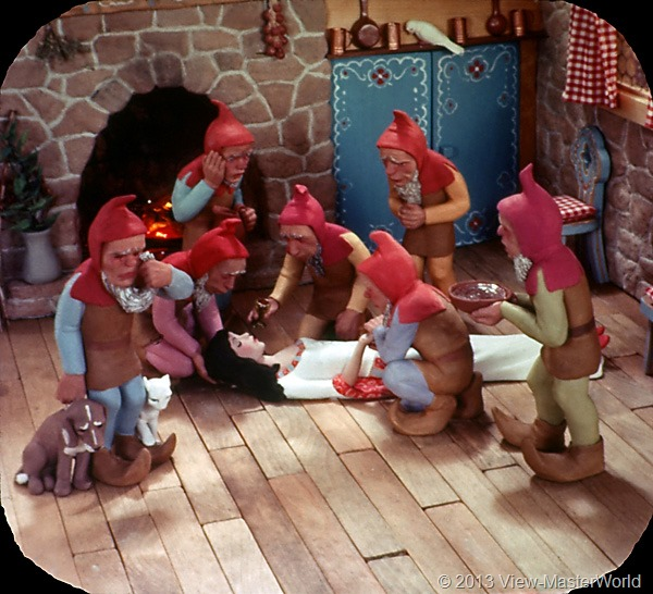 View-Master Snow White and the Seven Dwarfs (B300), Scene 18