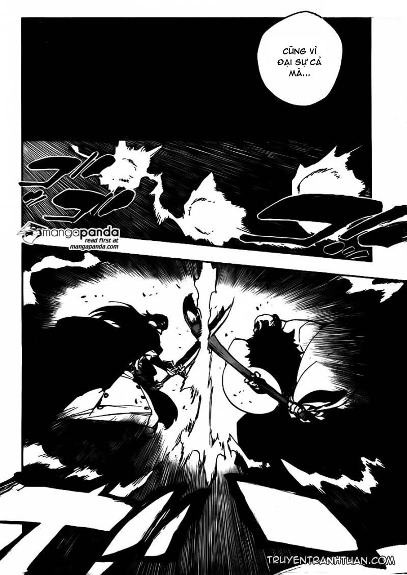 Bleach chapter 606 trang 11