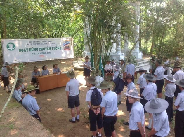 image008 BHD GĐPT Thừa Thiên tổ chức Trại Dũng năm 2013