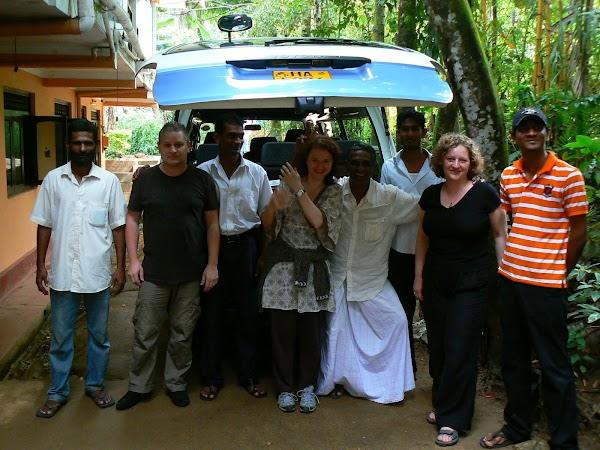 Cazare Sri Lanka: Palm Garden Guesthouse Kandy cu Malik.JPG