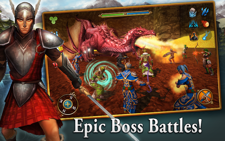android 3D MMO Celtic Heroes Screenshot 7