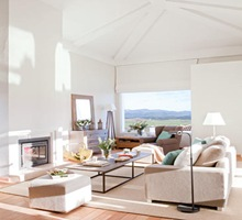 Salon-con-chimenea-diseño-de-interiores-arquitectura-casa-de-lujo