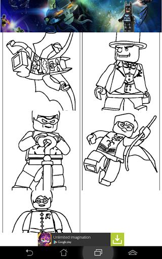 Free LEGO Coloring Batman KiDS