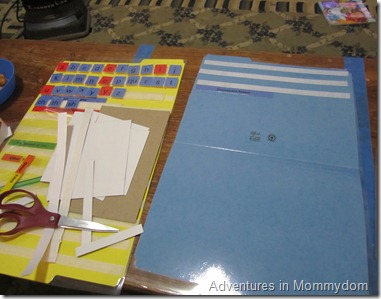 how to make a letters board for All About Reading