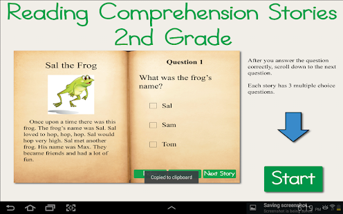 Reading Comprehension Grade 2 - Android Apps on Google Play