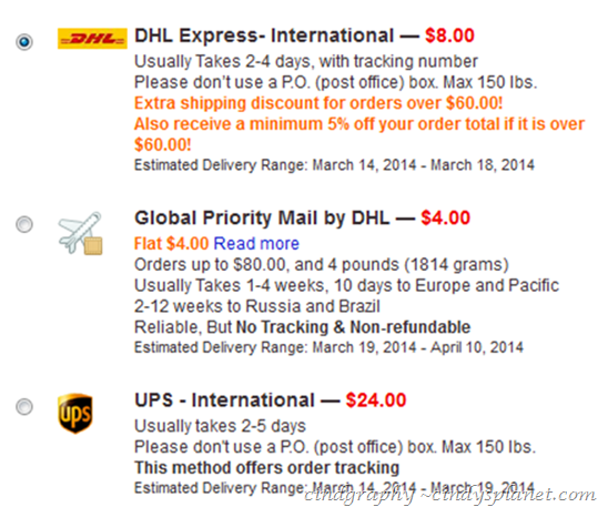 iHerb com Online Shopping Experience - Cindy's Planet