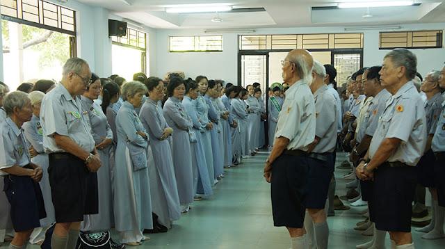 DSC06352 Lễ Hiệp kỵ   Lễ Huý Nhật Cư sĩ Sáng lập viên GĐPT Việt Nam   Tâm Minh Lê Đình Thám