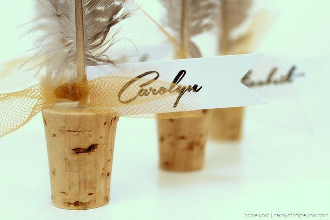 Cork & Feather Place Cards - homework  (1)