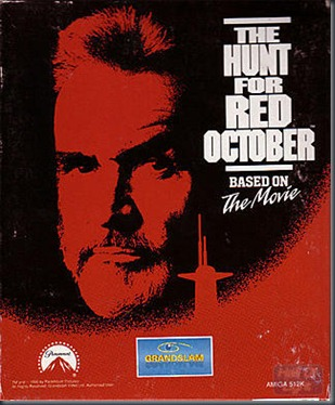 The Hunt of Red October Amiga