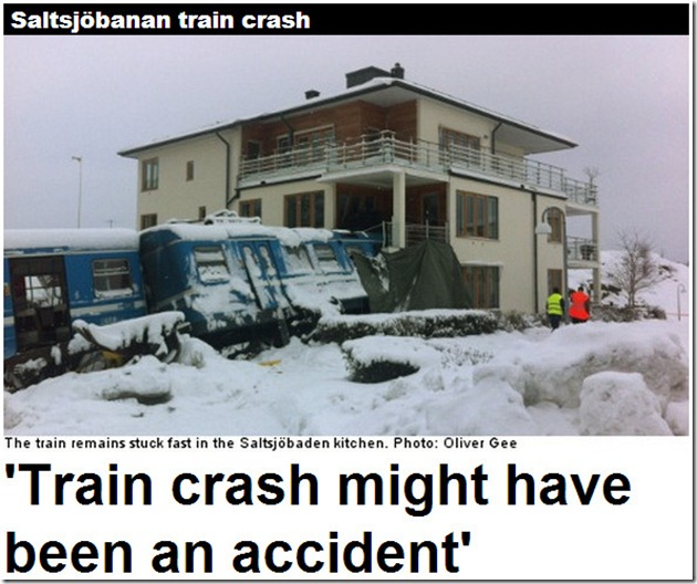 house train crash