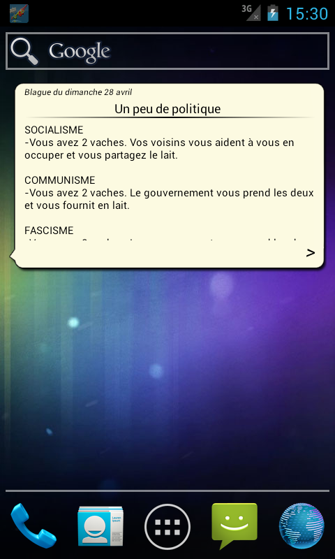 Blague du Matin - screenshot