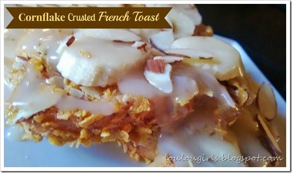 cornflake crusted french toast