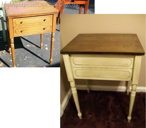 vintage sewing cabinet - Sewing Cabinet Projects - My Repurposed Life®
