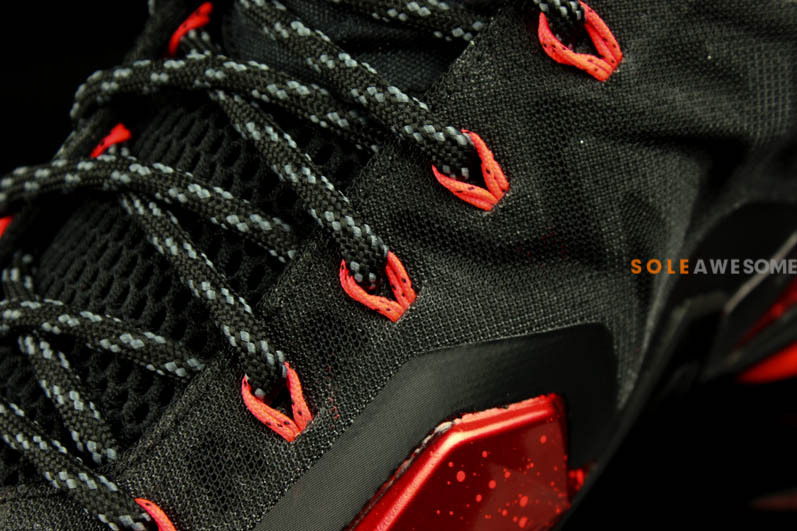 92a7e299d90 Yet Another Look at LeBron 11 Black   Metallic Red   Silver Grey ...