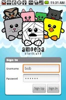 Screenshot of Amoeba Blackjack