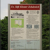 Kloster Zehdenick Infotafel