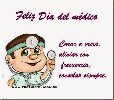 Tarjetas Feliz Día Del Médico Aires De Fiesta