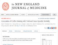 Связь между кофе и смертностью от конкретных заболеваний