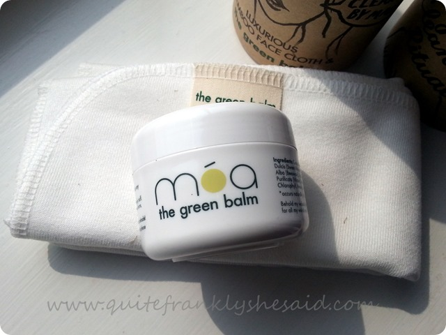 Moa The Green Balm Daily Cleansing Ritual cleanser